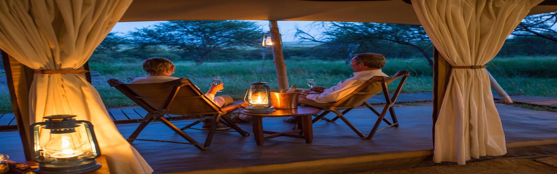Serengeti Pioneer - Tent Verandah (c) Silverless